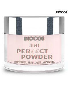 Base 08 Nude Leitoso 20g Perfect Powder 3 IN 1 Inocos