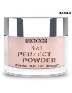 Base 09 Cobertura Nude 20g Perfect Powder 3 IN 1 Inocos | INOCOS Dipping Pó de Imersão