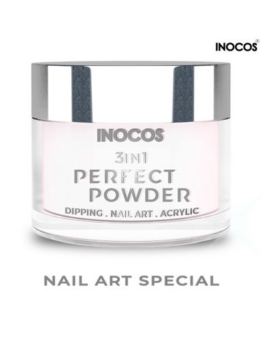 Nail Art Special 20g Perfect Powder 3 IN 1 Inocos