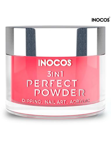 P30 Pôr do Sol Coral 20g Perfect Powder 3 IN 1 Inocos | Dipping Powder Inocos