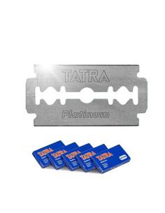 Lâminas Tatra Platinum - 100 Uni. | Lamina para navalha