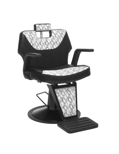 Retro Cadeira de Barbearia   ACB Mobiliário    Cadeira de Barbeiro
