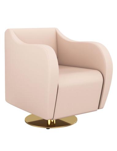 Cadeira de Cabeleireiro Galeone Gold | Cadeira de Cabeleireiro