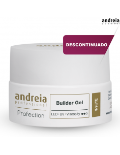 Andreia Builder Gel - White 22g Desc | Gel LED Andreia