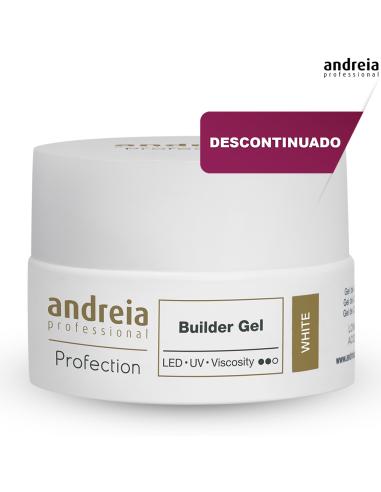 Andreia Builder Gel - White 22g Descontinuado - Higicol
