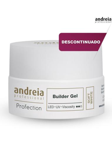 Andreia Builder Gel - Soft White 22g Desc