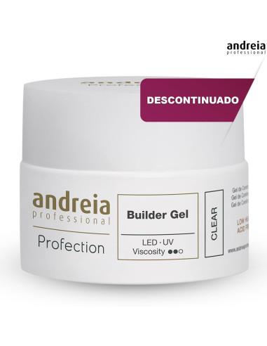 Andreia Builder Gel Clear - 44gr - Higicol