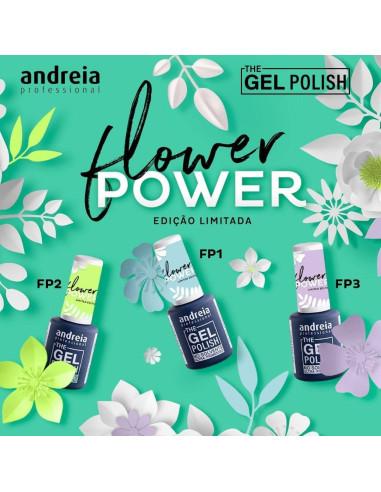 Coleção Flower Power - The Gel Polish Andreia - Higicol