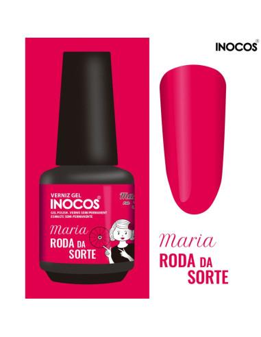 Maria Roda da Sorte 15ml - Maria na TV - INOCOS | INOCOS Verniz Gel