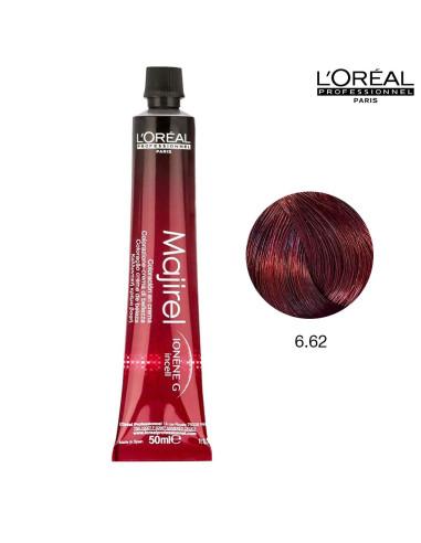 Majirel 6.62 Louro Escuro Vermelho Irisado 50ml L'Oreal Professionnel