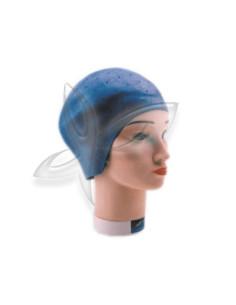 Touca para Madeixas Borracha Azul - Design Ergonómico | Acessórios de Coloração e Forma