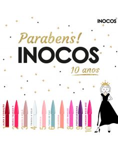 Coleção Verniz Gel Parabéns Inocos 15ml - INOCOS | INOCOS Verniz Gel