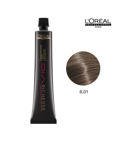 DiaRichesse 6.01 Louro Escuro Natural Cendre L'Oreal Profissional