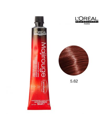 Majirouge 5.62 Vermelhos Acajous 50ml L'Oreal Professionnel | Majirouge