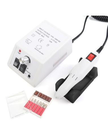 Micromotor Profissional Branco | Micro Motor para Unhas