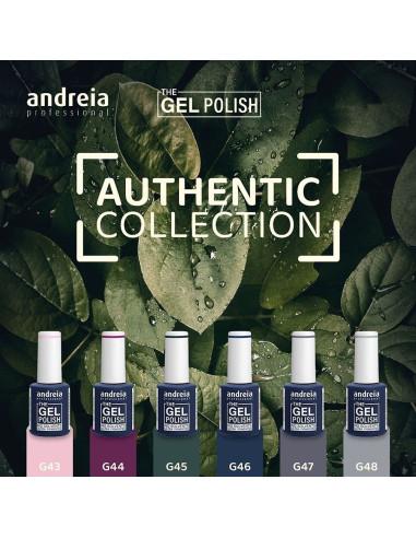 Coleção Authentic - The Gel Polish Andreia | The Gel Polish Andreia