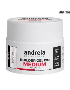 Andreia Builder Gel 3 IN 1 - Média Viscosidade 44gr | Gel LED Andreia
