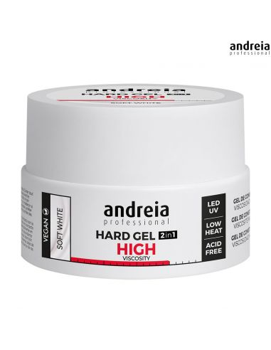 Andreia Hard Gel 2 IN 1 - Alta Viscosidade 22gr | Gel LED Andreia