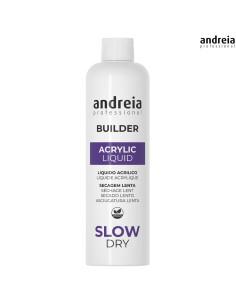 Líquido Acrílico Secagem Lenta 250ml Andreia Builder | Acrílico Andreia