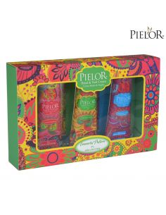 Coffret Creme de Mãos 3x30ml - Immortal Pattern - Verde - Pielor | Coffret