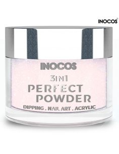 P06 Pérolas Rosa 20g Perfect Powder 3 IN 1 Inocos | Dipping Powder Inocos