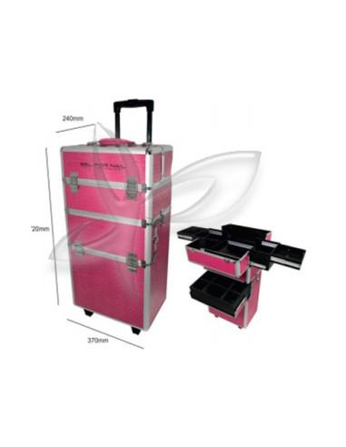 Trolley Rosa - Gel For Nail Malotes