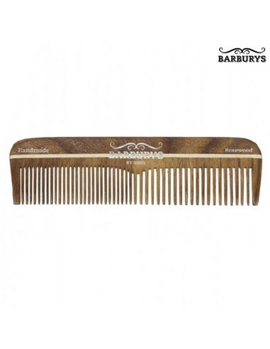 Pente de Cabelo Madeira - Rosewood 02 - Barburys - DESC | Barburys