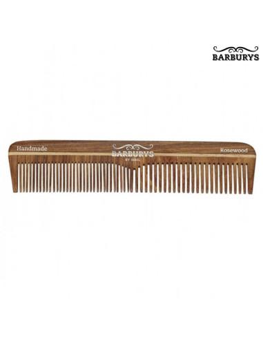 Pente de Cabelo Madeira - Rosewood 03 - Barburys - DESC | Barburys