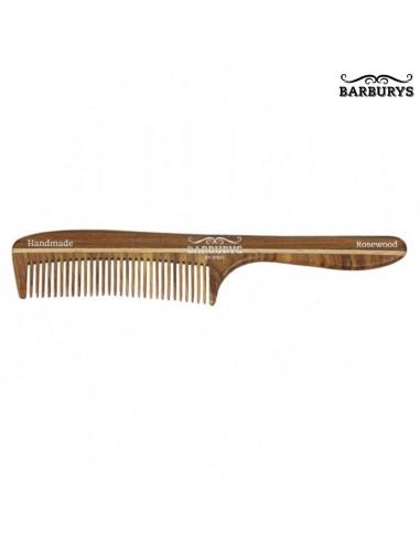 Pente de Cabelo Madeira - Rosewood 05 - Barburys - DESC | Barburys