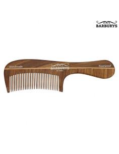 Pente de Cabelo Madeira - Rosewood 06 - Barburys - DESC | Barburys