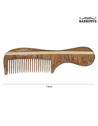 Pente de Bigode - Mini Mustache - Barburys - DESC   Material Barbeiro