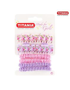 4 Elásticos e 4 Molas Kids Titania DESC