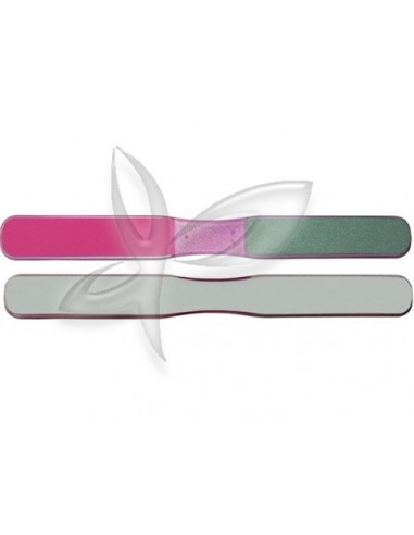 Lima 3 faces com pega central rosa desc |