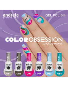 Verniz Gel Andreia - Color Obsession Collection - Edição Limitada