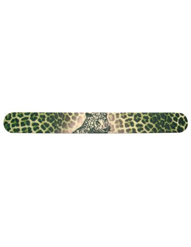 Lima Acolchoada Dupla Face 150/220 - Leopardo