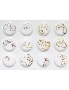 Pack Decalcantes Dourados Finos  Art Nail   Bijutaria  Nail Art