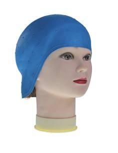 Touca para Madeixas de Borracha Azul Acessórios de Coloração e Forma
