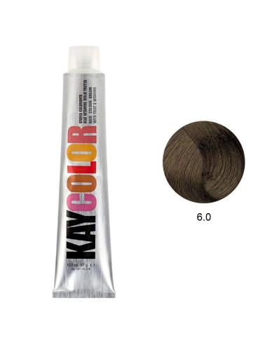 Coloração 6.0 Louro Escuro Intenso 100ml - Kaycolor Kay Color KayColor