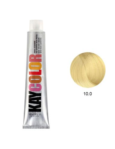 Coloração 10.0 Louro Platinado Intenso 100ml - Kaycolor | KayColor
