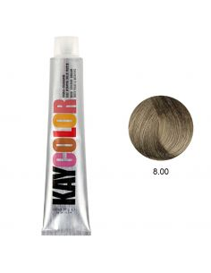 Coloração 8.00 Louro Claro Natural Frio 100ml - Kaycolor | Kay Color