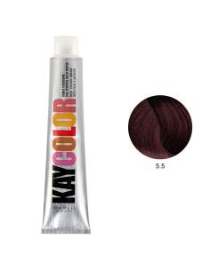 Coloração 5.5 Castanho Claro Acajú 100ml - Kaycolor | KayColor