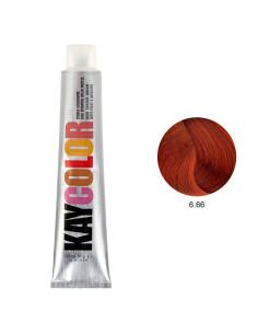 Kaycolor - Coloração 6.66 Castanho Escuro Vermelho Intenso 100ml | Kay Color