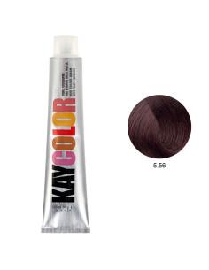 Coloração 5.56 Castanho Claro Vermelho 100ml - Kaycolor | Kay Color