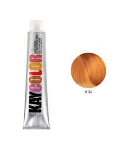 Kaycolor - Coloração 8.34 Louro Claro Acobreado Dourado 100ml | Kay Color