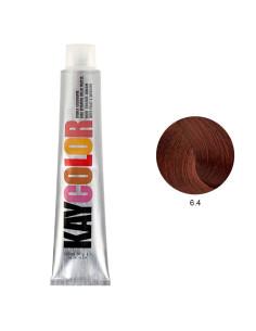 Kaycolor - Coloração 6.4 Castanho Escuro Acobreado 100ml | Kay Color