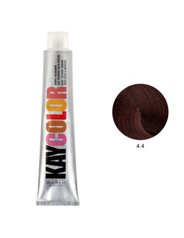 Coloração 4.4 Castanho Acobreado 100ml - Kaycolor | KayColor