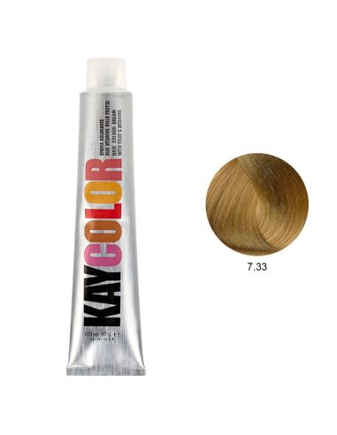 Coloração 7.33 Louro Dourado Intenso 100ml - Kaycolor | Kay Color