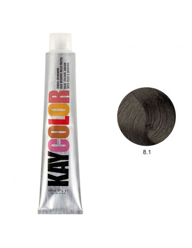 Coloração 8.1 Louro Claro Cinza Intenso 100ml - Kaycolor | Kay Color