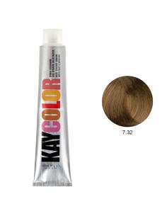 Coloração 7.32 Louro Beje 100ml - Kaycolor | Kay Color