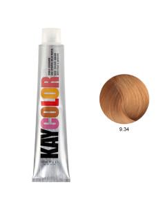 Kaycolor - Coloração 9.34 Louro Claríssimo Acobreado Dourado 100ml | Kay Color
